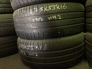 225/55R16 Michelin XM2 Used Tyres