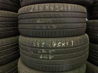 235/45R17 Continental Used Tyre
