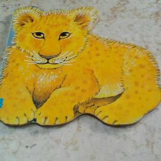 Children Board Book (buku cerita anak) - Lion