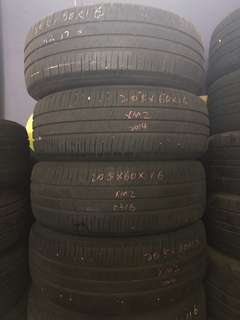 205/60R16 Michelin XM2 Used Tyre