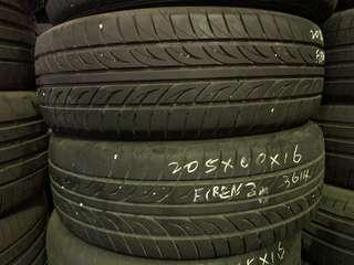 205/60R16 Firenze Used Tyre
