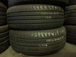 205/55R16 Goodyear EfficientGrip RunFalt Used Tyre