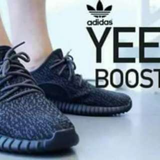 Adidas yeezy boost all black