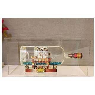 **Free Delivery** Acrylic Display Casing for LEGO 21313 - Ship in a Bottle