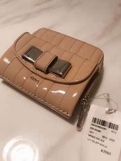 Chloe lovely bow wallet