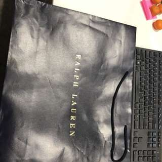 Ralph Lauren big paper bag