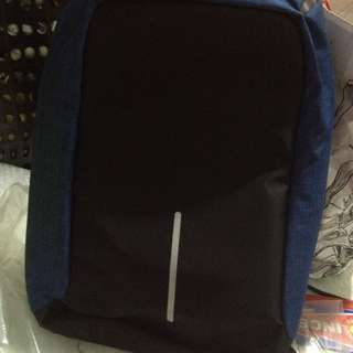 Anti theft Bagpack (Blue)