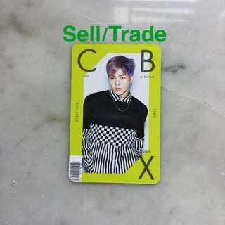 EXO CBX Girls Photocard (Xiumin