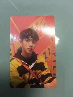 BTS LOVEYOURSELF OFFICIAL JIN PHOTOCARD