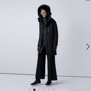 THE ARRIVALS Halstrom III Modular Snow Parka in Space Black