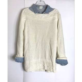 New! Esprit Casual Cable Knit Jumper 女裝粗冷上衣 Size M (EU 38) 👱🏼‍♀️👩🏼