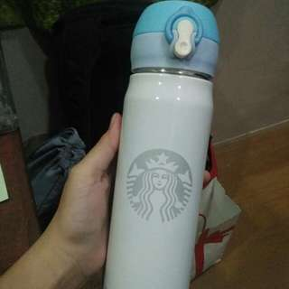 STARBUCKS TUMBLER WHITE