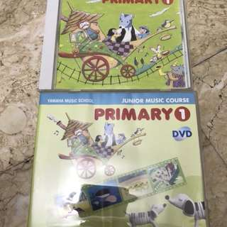 Yamaha JMC primary 1 CD & DVD