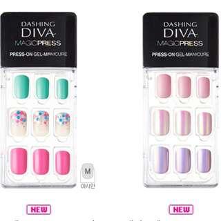 韓國大熱Dishing Diva懶人指甲貼官網款式同步訂購