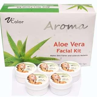 V-Color Aroma Aloe Vera Facial Kit 270 g (5 Steps)