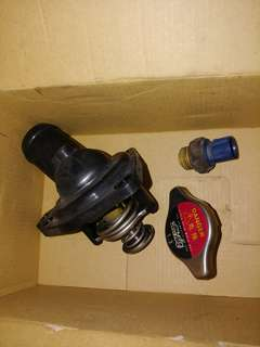 Mugen Thermostat, Mugen Fan Switch & Mugen Radiator Cap