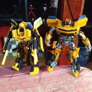 Transformer :bumblebee set:70s old camaro and rotf
