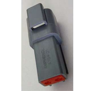 AT04-2P (DT04-2P) AMPHENOL 2-way Receptacle (connector for cars)