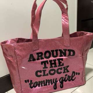 Tommy girl tote bag