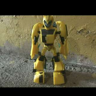 Transformers animated;deluxe class bumblebee