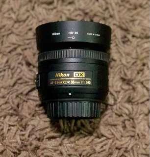 Nikon 35mm/f1.8G lens for sale