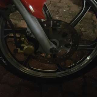 Wtt spark 135 racing boy rims