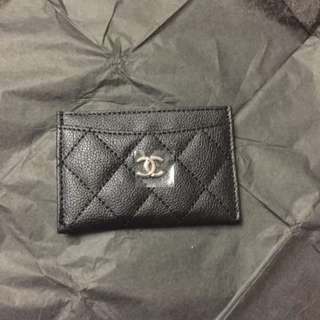 Chanel VIP Gift card holder 咭片套 荔枝面