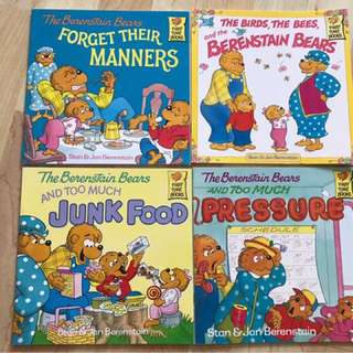 Berenstain Bear Children Books