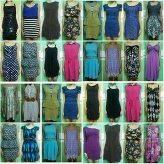 Dresses (Take 30+ pcs for 4000 only)