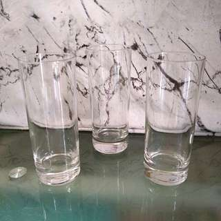 3 for P90 Clear Tall Glass