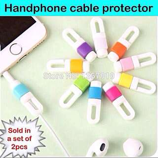 Cable Protector for handphone cables  [uncle.anthony uncle anthony uac 2bump]