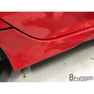 Honda Civic FC Accident Repair/ Panel Beating/ Insurance Claim/ Spray Painting