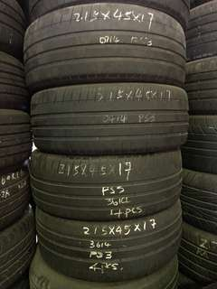 215/45R17 Michelin Used Tyre