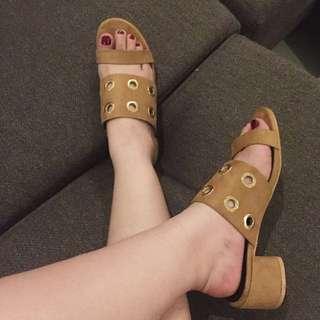 Parisian Block Heel Sandals