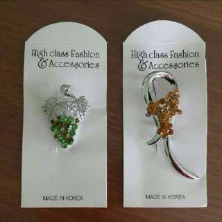 Brooches from Korea