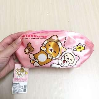 🚚 拉拉熊 筆袋 化妝包