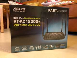 ASUS RT-AC1200G+ Dual-band Router Wireless-AC1200
