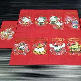 Rare Sanrio X Changi Airport CNY Ang Bao/Red Packets