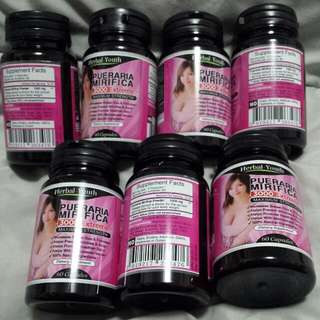 1@$48 BUST BREASTS ENLARGEMENT BOOST + UP SIZE 0.5 TO 3 CUP + FIRM BUTT + FOR LADY / WOMAN + TRANSGENDER + 500MG X 60 + UP LIBIDO & ESTROGEN & SLOW DOWN AGING + ENHANCE PUBERTY & MENOPAUSE - SUITABLE FOR HALAL MUSLIM VEGETARIAN - 100% HERBAL