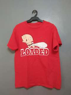 "STEWIE GRIFFIN ""LOADED"" red"