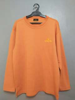 VALENTINO CHRISTY SWEATSHIRT orange