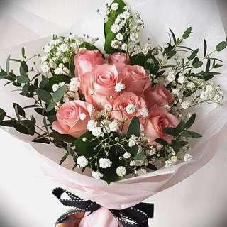 Rose Bouquet, Fresh Flowers