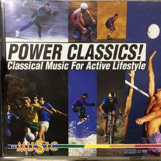 Classical music for active lifestyle cd