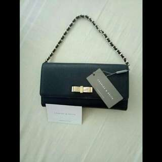 Repriced authentic Charles & Keith wallet