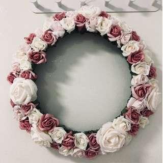 Handmade Rose Wreaths