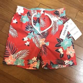 Old Navy Toddler Swimming Trunks Beach Shorts