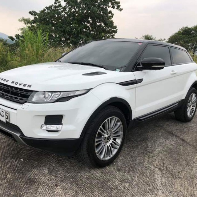 2017 Range Rover Evoque Sd4 2 Door Coupe Suv Cars For On Carou