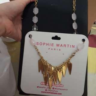 Kalung wanita sophie martin new
