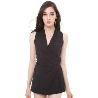 MDS Collections Taylor Romper Black
