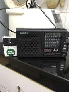 Kaide 乾濕電兩用收音機